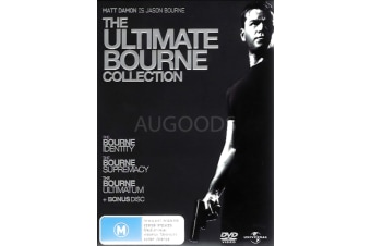THE ULTIMATE BOURNE COLLECTION - Rare- Aus Stock DVD PREOWNED: DISC LIKE NEW