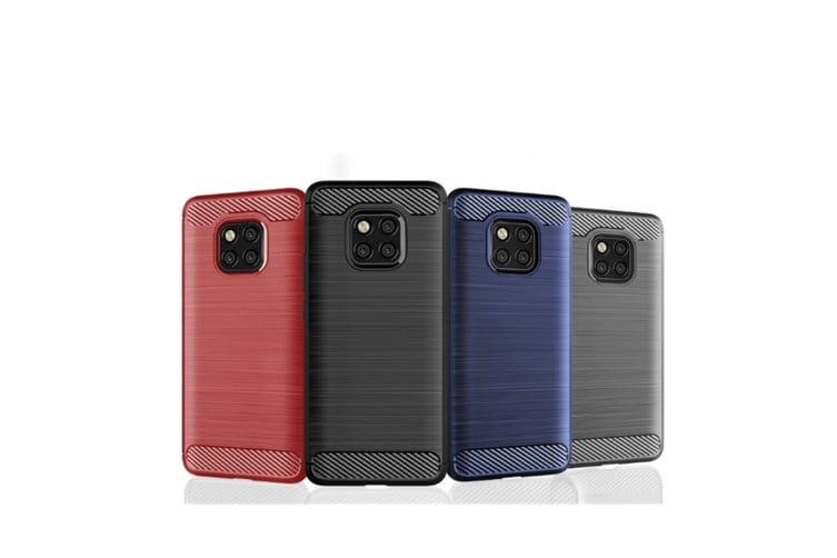 Tpu Shock Absorption Technology Protective Case Cover For Huawei Smartphone Black Mate20