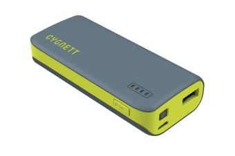 Cygnett ChargeUp Sport 4400mAh Power Bank - Green (CY1443PBCHE)