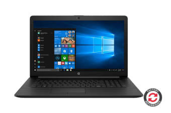"HP 17-by1053dx 17.3"" Laptop (i5-8265U, 8GB RAM, 256GB SSD, Jet Black) - Certified Refurbished"