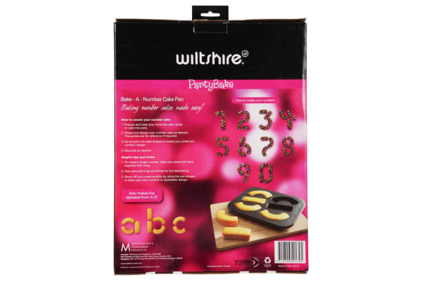 Wiltshire Bake A Number Cake Pan
