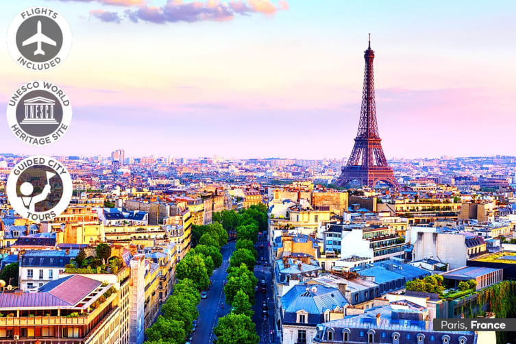 EUROPE: 19 Day Europe In Depth Tour Including Flights for Two