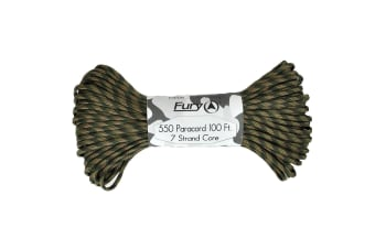 Fury Recon Camo Paracord 100ft
