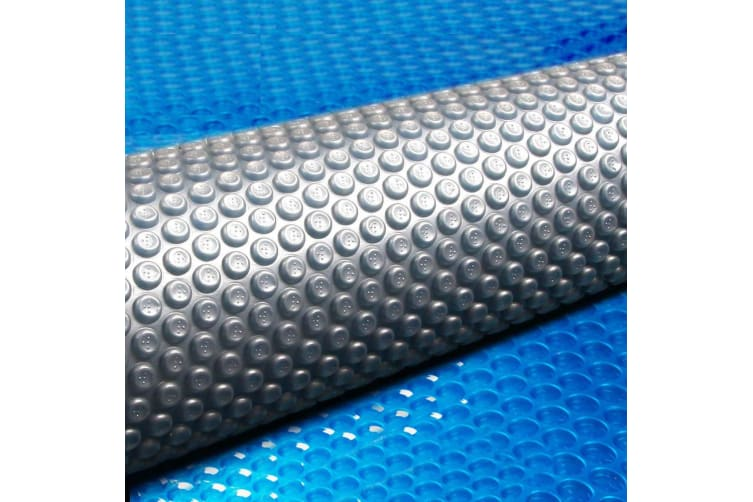 Solar Swimming Pool Cover 500 Micron Outdoor Bubble Blanket 6.5MX3M