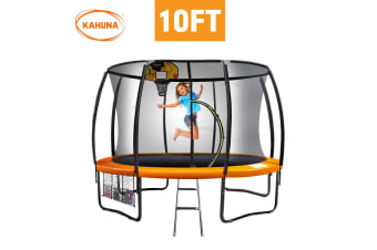 Kahuna Trampoline 10ft with  Basket ball set