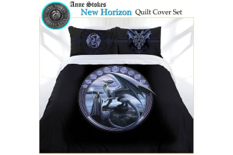 Anne Stokes New Horizon Quilt Cover Set Queen