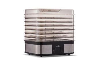 5 Star Chef Food Dehydrator with 7 Trays (Silver)