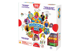 ZOOB 100 Piece Inventor's Kit