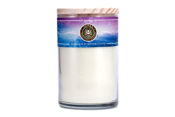 Terra Essential Scents Massage & Intention Candle - Energy (12oz)
