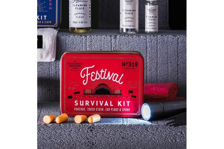 The Camper`s  Festival Survival Kit | Everything a Festival-Goer Needs