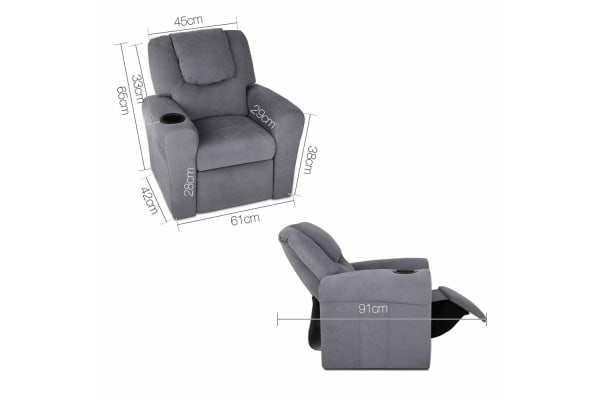 Kids Recliner (Grey)