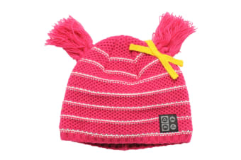 Dare 2B Kids Girls Precede Winter Beanie Hat (Electric Pink)