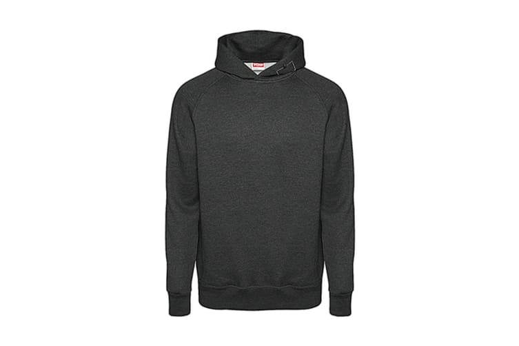 FDM Tagless Media Hoodie (Heather Black) (XL)
