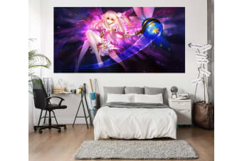3D Magic Girl 533 Anime Wall Stickers Self-adhesive Vinyl, 80cm x 80cm(31.5'' x 31.5'') (WxH)