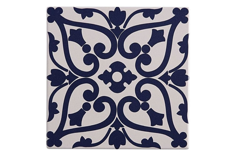 Maxwell & Williams 15cm Medina Ceramic Square Tile Trivet Pad f Pot Pan Maarif