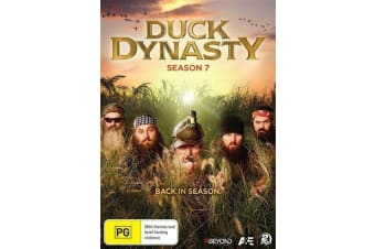 Duck Dynasty: Season 7 - DVD - NEW Region 4 - Series Rare- Aus Stock DVD NEW