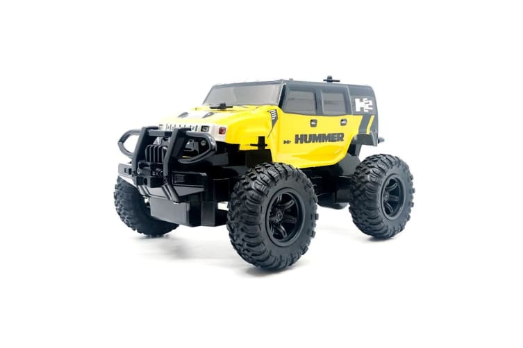 Rusco Racing RC 1:24 Red Hummer RC Car - 2.4GHz