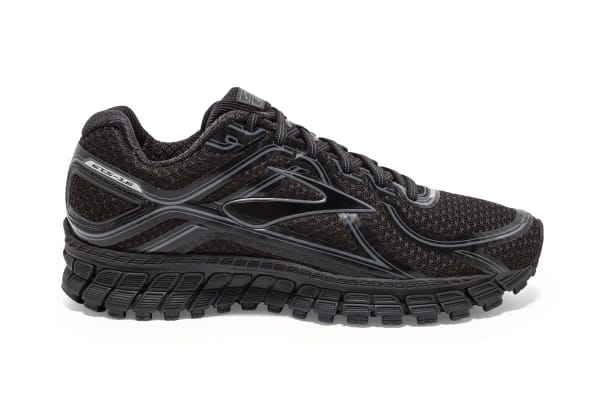 Brooks Men's Adrenaline GTS 16 Shoes (Black/Anthracite, Size 11.5)