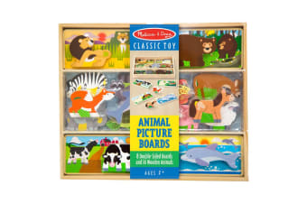 Melissa & Doug - Animal Picture Boards