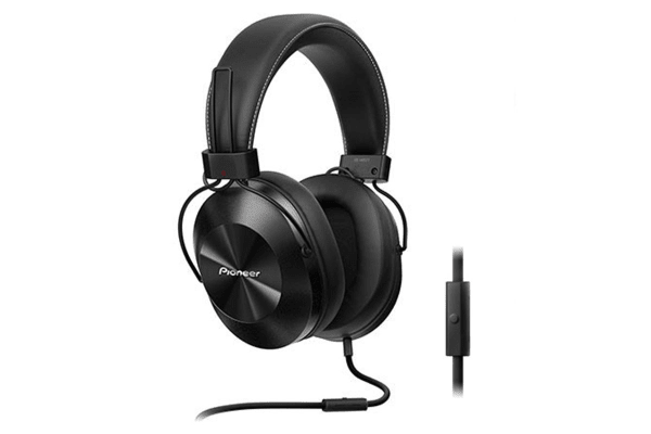 Pioneer Over-Ear Headphones with 40mm Drivers - Black (SEMS5TK)