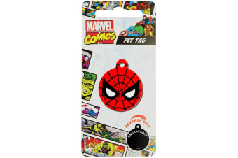 DC Comics Spider-Man Pet Tag (Red) (One Size)