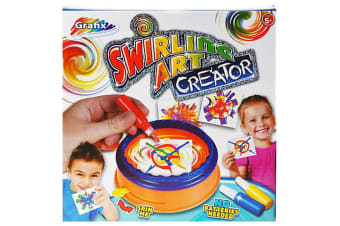 Grafix Swirling Art Creator Set