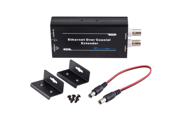 Active Ethernet &POE Over Coax Transmitter Only Upto 1Km