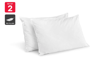 Trafalgar Set of 2 Hotel Quality Goose Feather Down Pillows