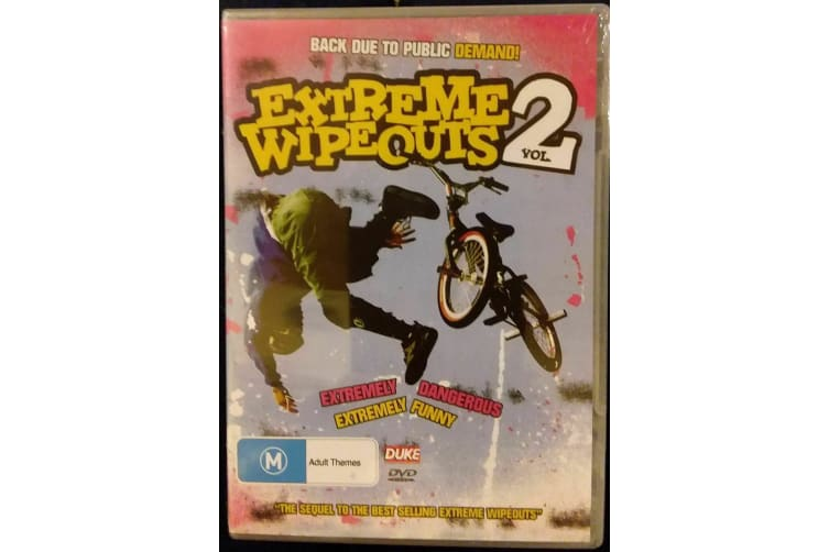 Extreme Wipeouts Vol 2, all region - Rare- Aus Stock DVD PREOWNED: DISC LIKE NEW
