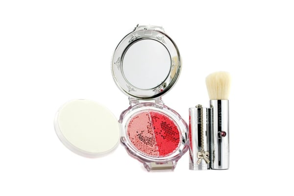 Jill Stuart Blush Blossom Dual Cheek Color (With Brush) - # 06 Little Anemone (5g/0.17oz)