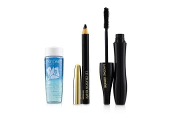 Lancome Hypnôse Mascara Eye Set (1x Hynôse Mascara 6.2ml + 1x Mini Le Crayron Khôl 0.7g +1x Bi Facil 30ml) 3pcs