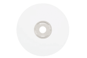 Verbatim CD-R 80MIN 700MB 52X White Thermal Prinable 100pk Spindle 100 pc(s)