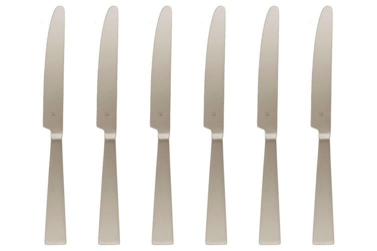 Tablekraft Alexis Table Knives Solid Set of 6