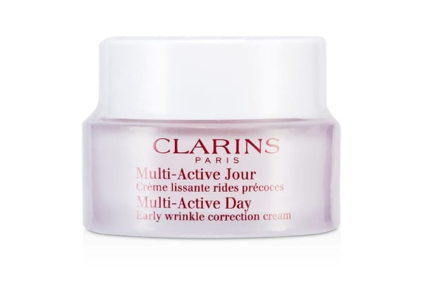 Clarins Multi-Active Day Early Wrinkle Correction Cream (All Skin Types) - Unboxed (50ml/1.7oz)