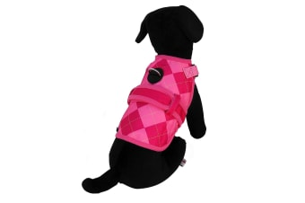26 Bars & A Band Prep Avant Garde Dog Harness (Pink) (S)