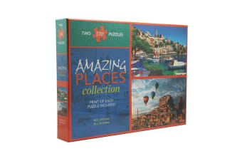 Amazing Places Collection - Two 500 Piece Puzzles