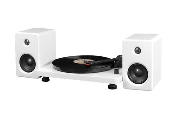 Innovative Technology Modern Bluetooth Turntable - White (ITUT-420)