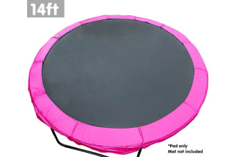 Powertrain Replacement Trampoline Spring Safety Pad - 14ft Pink
