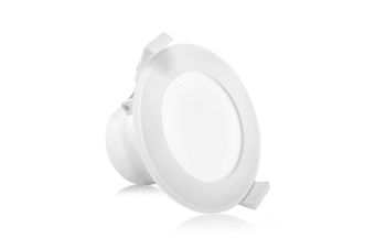 Lumey x 10 LED Downlight Kit Ceiling Light Bathroom Dimmable Warm White 10W