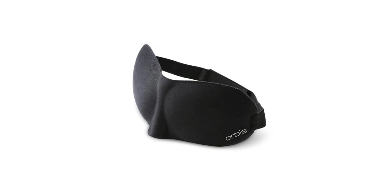 Orbis 3D Soft Padded Sleeping Eye Mask | Travel Accessories |