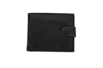 Royal Ram Mens Ethan Bifold Leather Wallet (Navy)