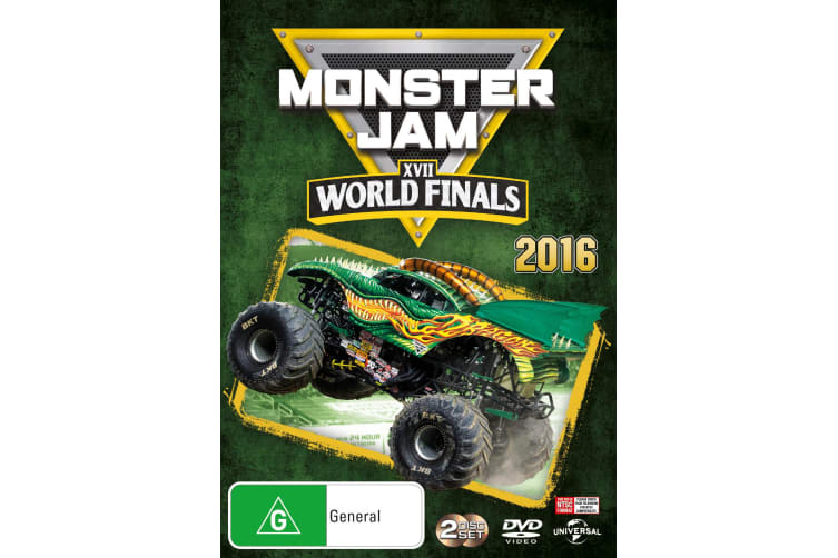 Monster Jam World Finals 2016 XVII DVD Region 4