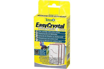 Tetra Easy Crystal Cartridge For Cascade Globe Filter 100 (White) (One Size)