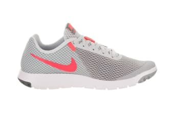 Nike Women's Flex Experience RN 6 Running Shoe (Wolf Grey/Hot Punch/Platinum, Size 5)