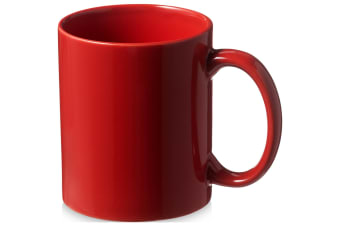 Bullet Santos Ceramic Mug (Pack of 2) (Red) (9.7 x 8.2 cm)