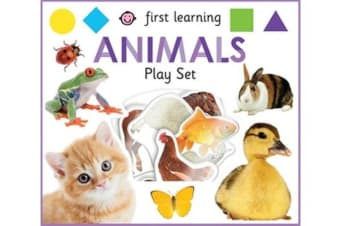 First Learning Animals Play Set