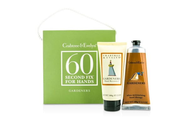 Crabtree & Evelyn Gardeners 60 Second Fix for Hands: Hand Recovery 100g + Hand Therapy 100g (2pcs)