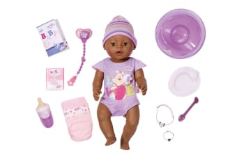 Baby Born Interactive Doll (Purple)