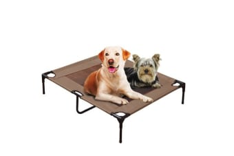 PaWz Heavy Duty Pet Bed Trampoline in Tan LARGE