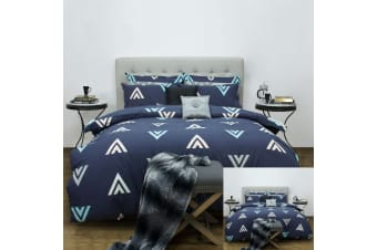 Asta Reversible Quilt Cover Set by Apartmento